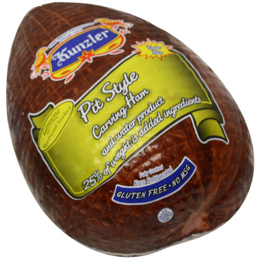package of pit style carving ham