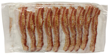 precooked bacon
