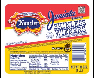 Juniata Skinless Wiener