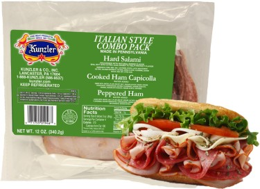 Italian Style Combo Pack and Sandwich 02-26-16