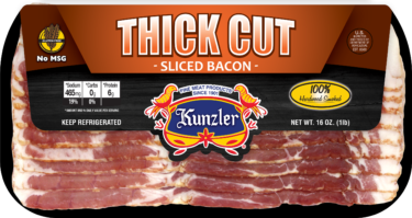 Thick Cut bacon package