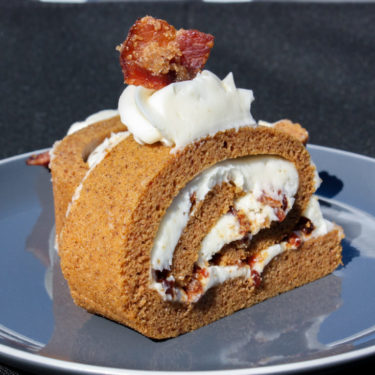 Candied Pumpkin Roll