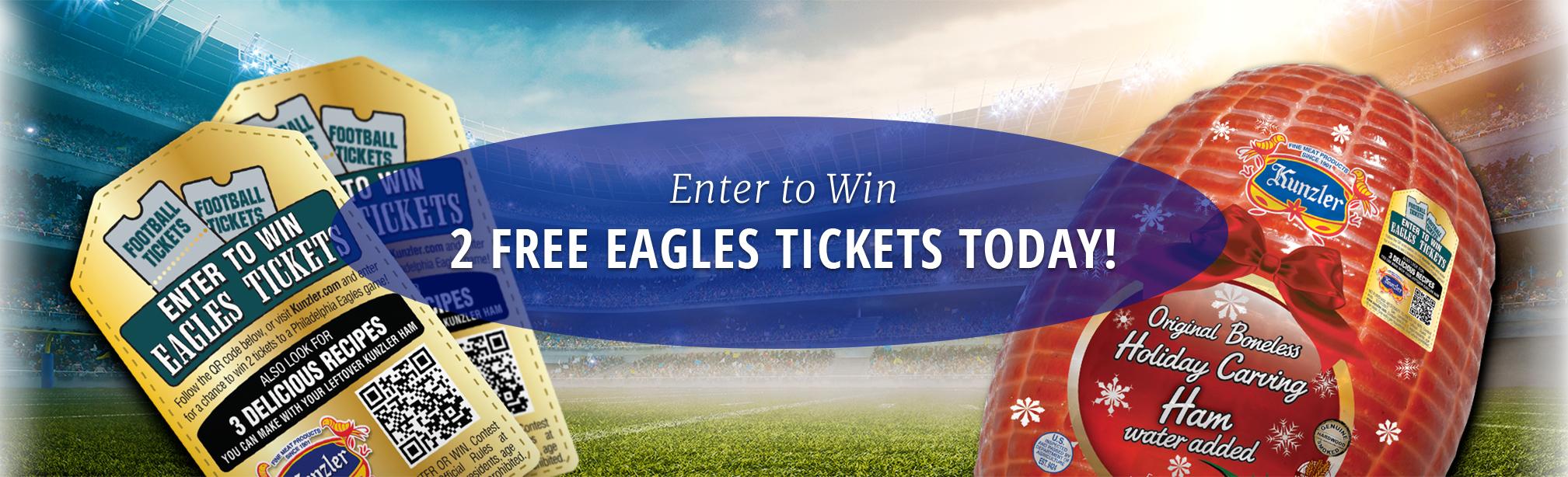 Kunzler ham and eagle tickets