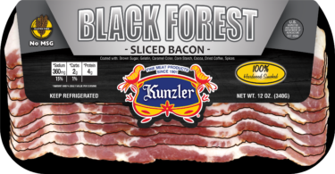 a package of black forest bacon