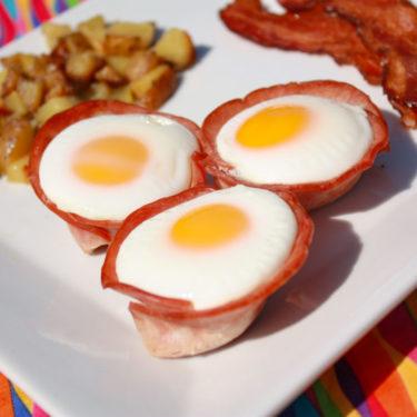 Ham Egg Cups