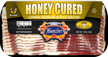 Honey Cured Bacon package