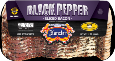 Black Pepper Bacon package