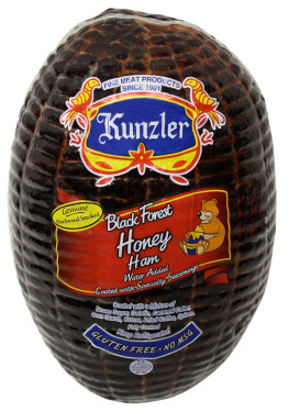 a package of black forest honey ham