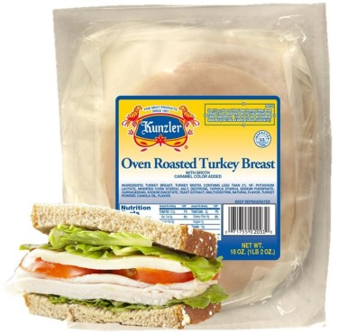 oven roasted turkey breast in package