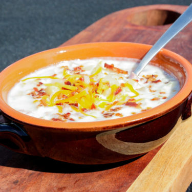 HAM & POTATO CORN CHOWDER