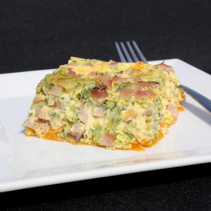 ham-broccoli-frittata