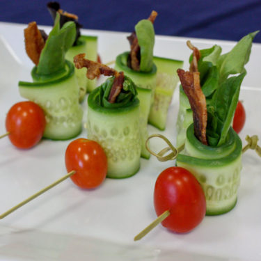 BLT SALAD SHOOTERS