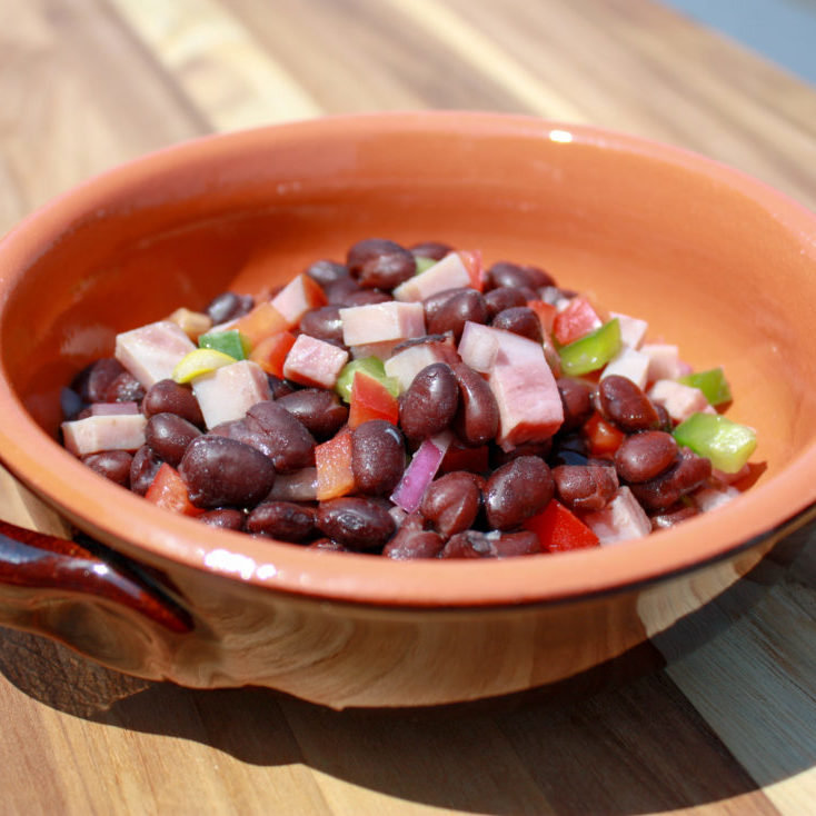 ham-bean-salad