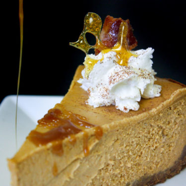 CANDIED PUMPKIN CHEESECAKE